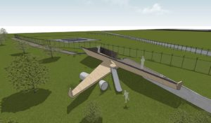 Brussels Airport constructs spotter places