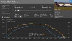 Brussels Airlines Last Scheduled Avro Flight SN2720