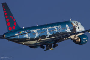 Brussels Airport Airbus A320-214 | Brussels Airlines | Registration: OO-SNC | Msn: 1797 | Name: Magritte