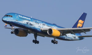 Brussels Airport Boeing 757-256 | Icelandair | Registration: TF-FIR | Msn: 26242 / Ln: 593 | Name: Vatnajökull