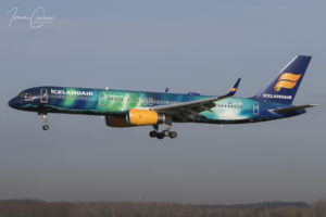Brussels Airport Boeing 757-25C | Icelandair | Registration: TF-FIU | Msn: 26243 / Ln: 603 | Name: Hekla Aurora