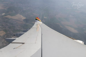 Air Belgium rehearsal flight