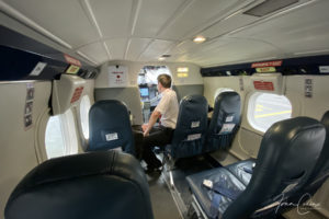 Trip report from Glasgow to Barra with a Loganair Twin Otter.